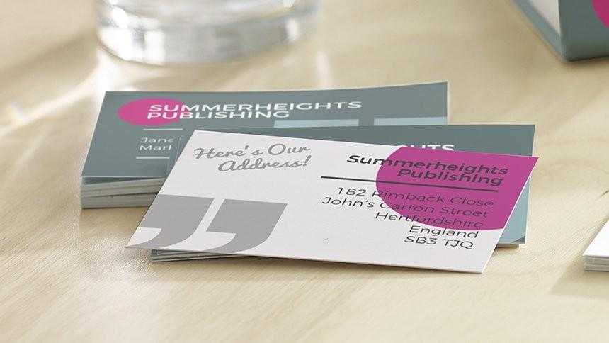 Visitekaartjes zelf maken en bedrukken avery visitekaartjes reheart Image collections
