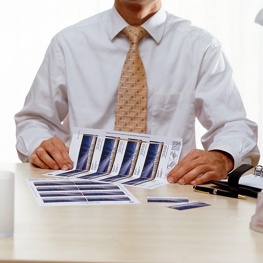 Visitekaartjes tips over printen en ontwerpen avery tips en advies over het maken van avery business cards reheart Images