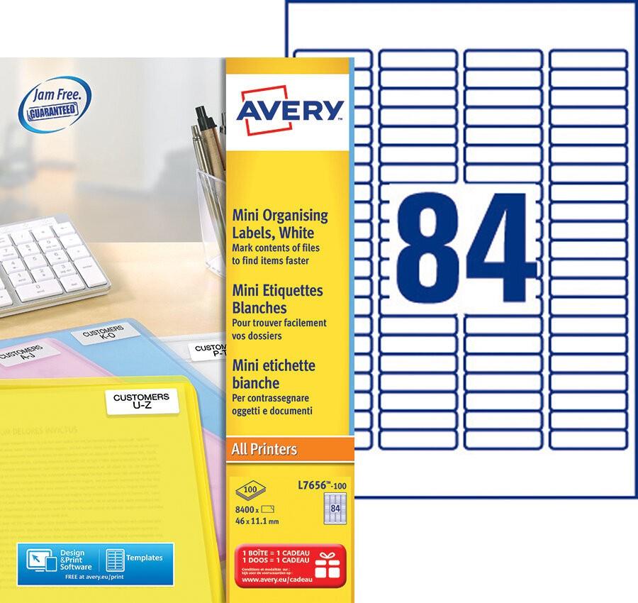 Mini Etiketten L7656 100 Avery
